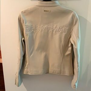 Baby Phat Jackets & Coats - Vintage Baby Phat Leather Jacket Never Been Worn!